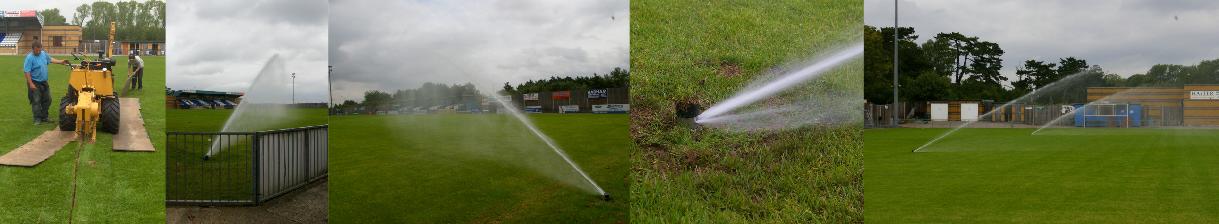 Football Pitch Sprinkler Systems