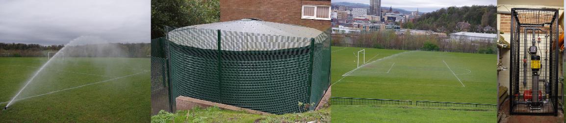 Pop-up Sprinkler System for Football Pitches