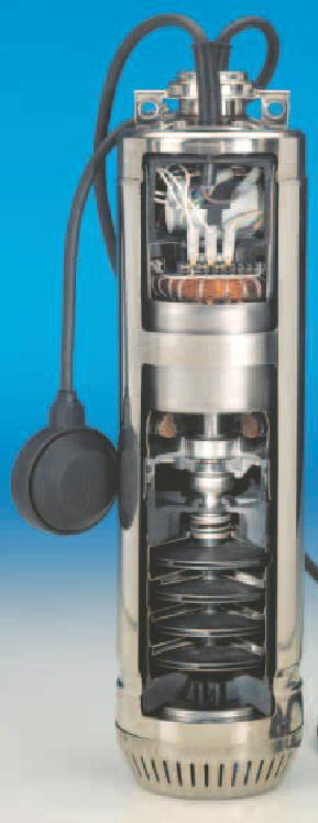Scuba Submersible Borehole 5 Quot Well Pump Lowara Sc205c